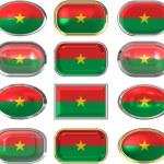 Flag of Burkina Faso — Stock Photo #1430693