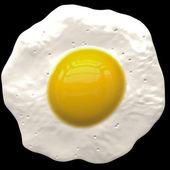 Stekt ägg — Stockfoto
