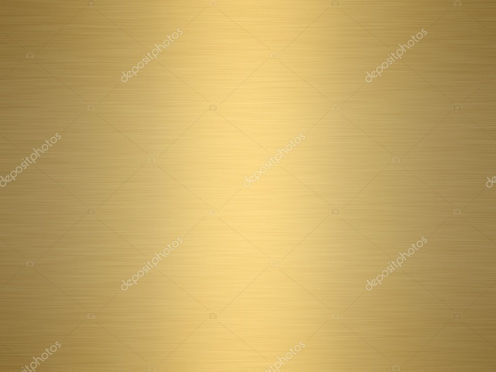A large sheet of rendered finely brushed gold as background  Stock Photo #1430545