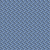 Blue diamond plate — Stock Photo