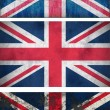 Grunge Flags of the United Kingdom — Stock Photo