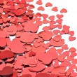 Lots of hearts — Stock Photo
