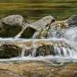 Water on rocks - Stock Photo