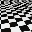 Black and white tiles — Stock Photo