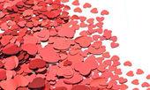 Montón de corazones — Foto de Stock