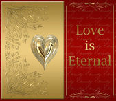 Love is eternal — Stock Photo