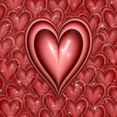 Coeur de clin — Photo