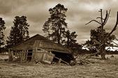 Antiguo edificio de la granja — Foto de Stock