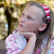 Stock Photo: Wistful young girl
