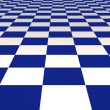 Blue and white tiles — Stock Photo #1865715