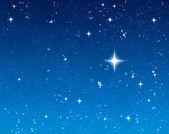 Bright wishing star — Stock Photo