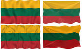 Flag of LIthuania — Stock Photo