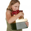 My presents girl child — Stock Photo