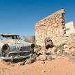 Old car in the desert — Stock Photo #1972822