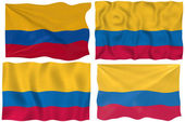 Flag of Colombia — Stock Photo
