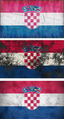 Flag of Croatia — Stock Photo