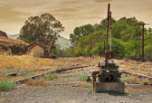 Old railway line — Stock Photo