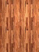 Mahogany floor — Stock Photo