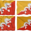 Flag of Bhutan — Stock Photo #2036965