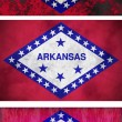 Stock Photo: Flag of Arkansas