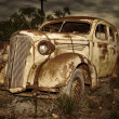 Old rusted car — Stock Photo #2037640