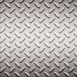 Stock Photo: Alloy diamond plate