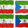 Stock Photo: Flag of Equatorial Guinea