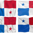 Flag of Panama — Stock Photo
