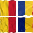 Flag of Romania — Stock fotografie #2063567