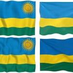 Flag of Rwanda — Stock Photo #2063570