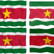 Stock Photo: Flag of Suriname