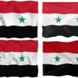 Flag of Syria — Stock Photo #2063606