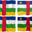 Flag of Central African Republic — Stock Photo #2063610