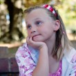 Wistful young girl — Stock Photo #2063678