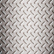 Alloy diamond plate - Stock Photo