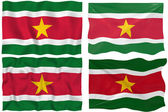 Flag of Suriname — Stock Photo