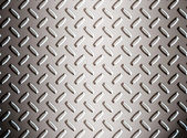 Alloy diamond plate — Stock Photo