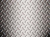 Alloy diamond plate — Stock Photo