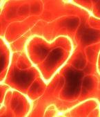 Power heart — Stock Photo