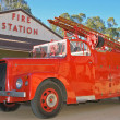 Stock Photo: Historic fire truck