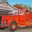Historic fire truck - Stock Photo