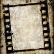 Grungy film strip or photo negative — Stock Photo #2092129