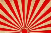 Japanese rising sun — Stock Photo