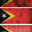 Flag of East Timor — Stock Photo