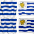 Royalty-Free Stock Photo: Flag of Uruguay