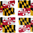Stock Photo: Flag of Maryland