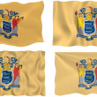 Flag of New Jersey — Stock Photo