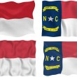 Flag of North Carolina — Stock Photo #2331271