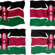 Flag of Kenya — Stock Photo #2354938