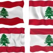 Flag of Lebanon — Stock Photo